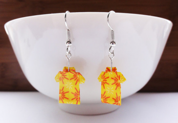 Hawaiian Origami Earrings by Mainland Kama'ainas