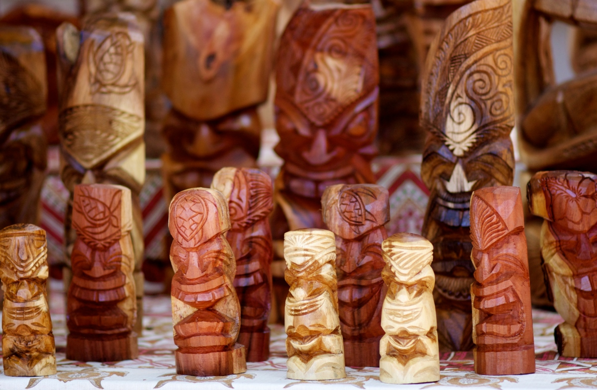 Woodwork - Tongan Style