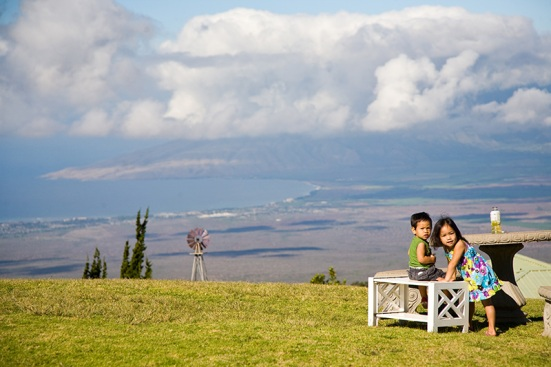 View of Maui from Kula - Mainland Kamaainas