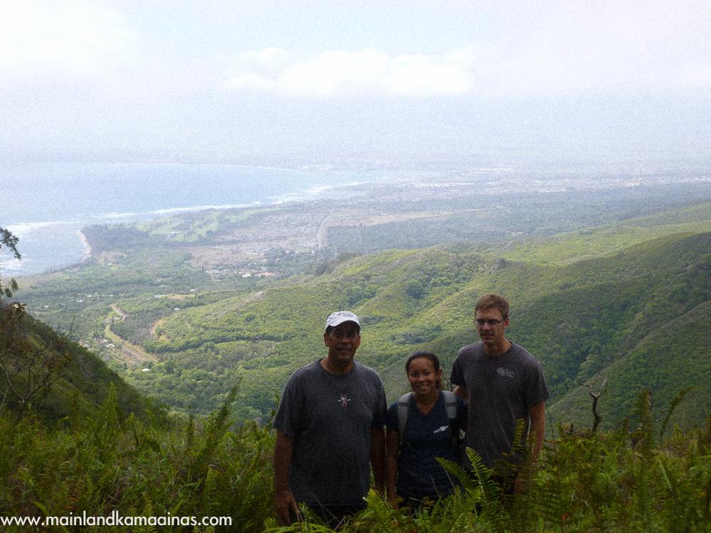 Ridge Hike Maui Waihee Ridge Trail Maui Hike