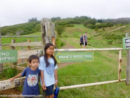 Waihee Ridge Trail, Maui Hawaii