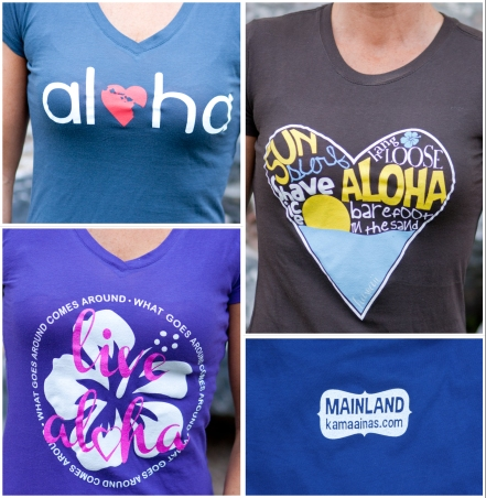 Winner will pick from three awesome designs!  All done by our lil' ohana!
