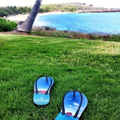 Wearing Flipflops once a week is a healthy way to promote happiness and general sense of well being.  :)